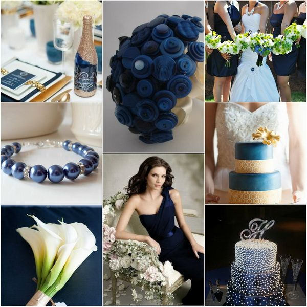 Blue And Gold Wedding Decorations: LOVE The Blue Fabric Bouquet Idea.... {Wedding Trends}Blue