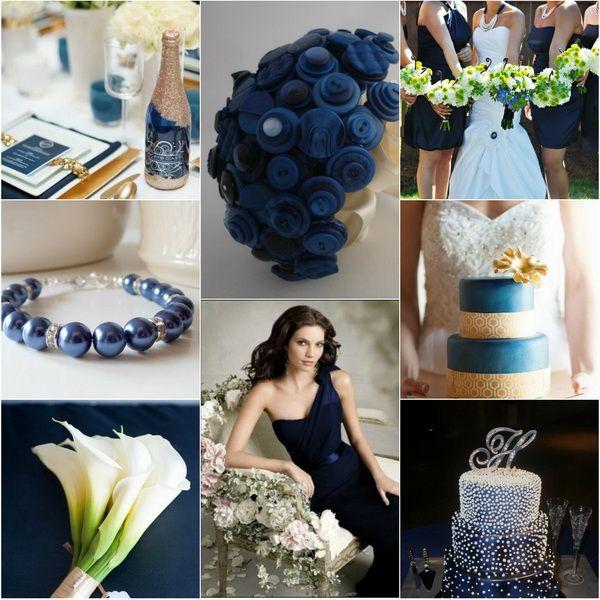 LOVE The Blue Fabric Bouquet Idea.... {Wedding Trends}Blue