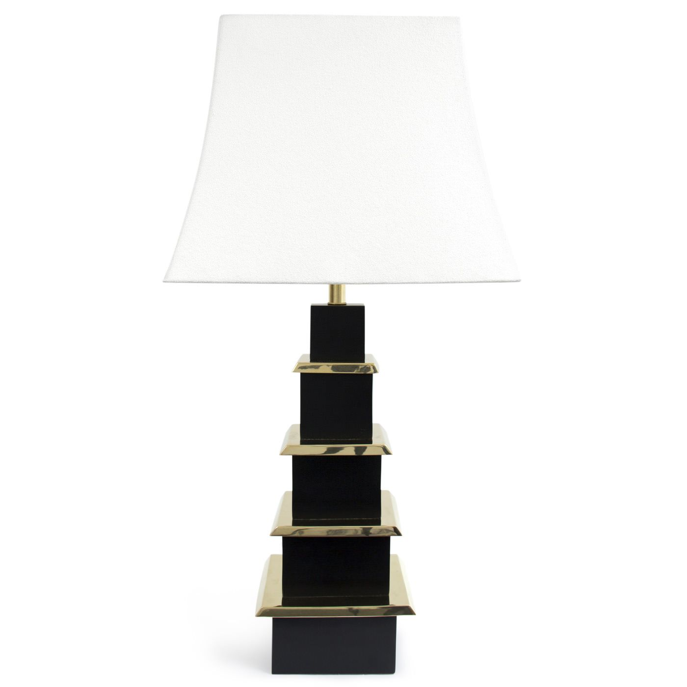 Pagoda Table Lamp Black Table Lamps Table Lamp Modern Light