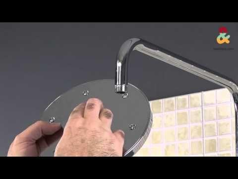 Cómo instalar una columna de ducha - YouTube   Columna ...