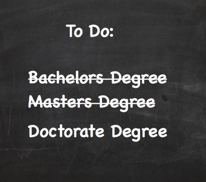Work in Progress - Doctorate Degree | Me In Progress, Ed.D ...
