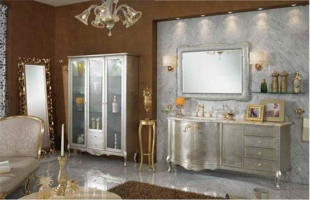 Classic Bathroom Design Ideas ~ Bathroom classic bathroom design ideas rectangular grey vanity brown