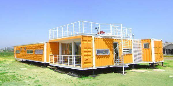 Ein Container kostet ca. 1500 Euro. Aber was man daraus machen kann ...