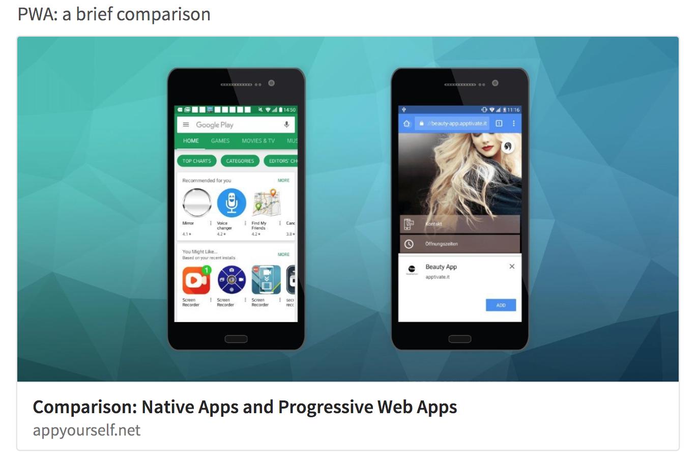 Progressive Web Apps Google has shaken up the app market