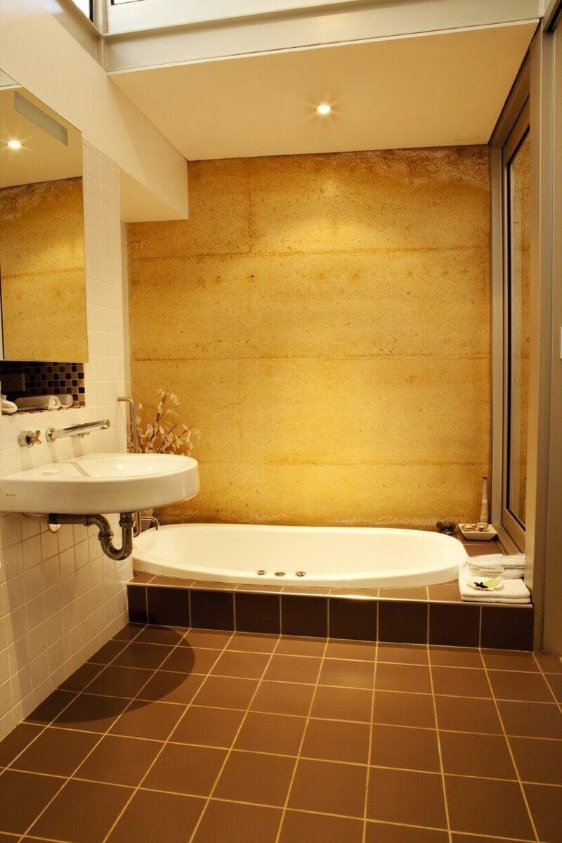 The Benefits Of A Sunken Bathtub - TheBathOutlet.com   Living Space ...
