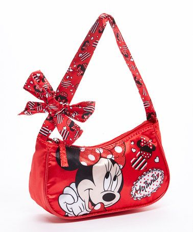 Look what I found on #zulily! Red Minnie Mouse Bow Handbag by Minnie Mouse #zulilyfinds