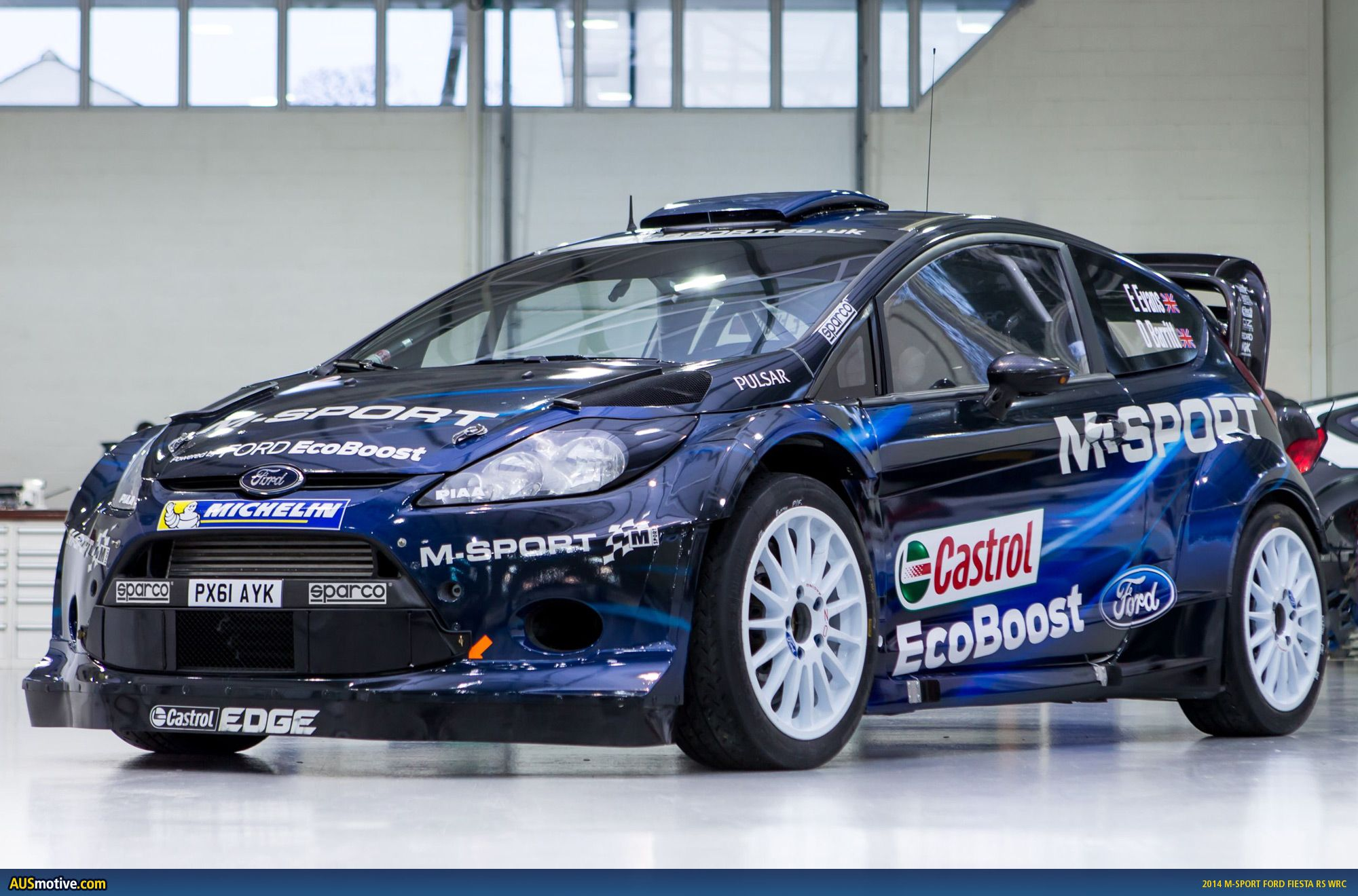 Also In 2014 OZ Racing Will Be Official Partner And Supplier Of M Sport  World Rally Team!