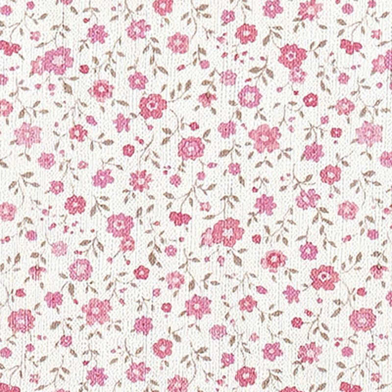 Intiss liberty flower coloris blanc papier peint 4murs garden party - Papier peint patchwork ...