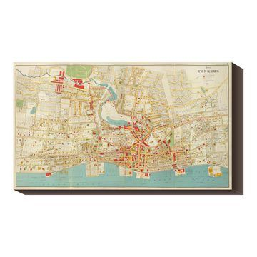 Yonkers City 1893 40x23 Map Now Featured On Fab Global Gallery Graphic Art Art