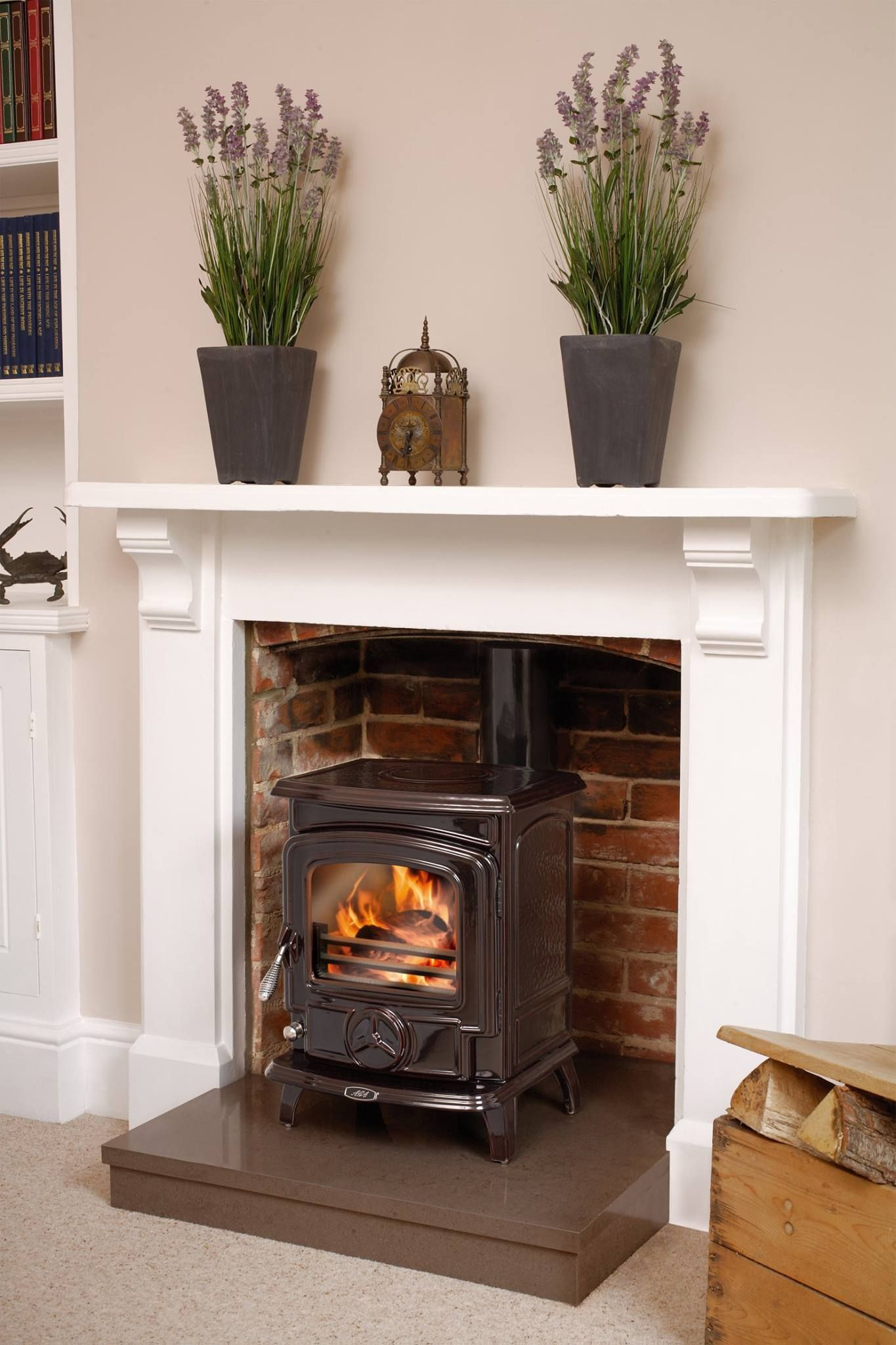 AGA cast iron Wenlock stove ~~ love that it\'s an Aga | Fireplaces ...