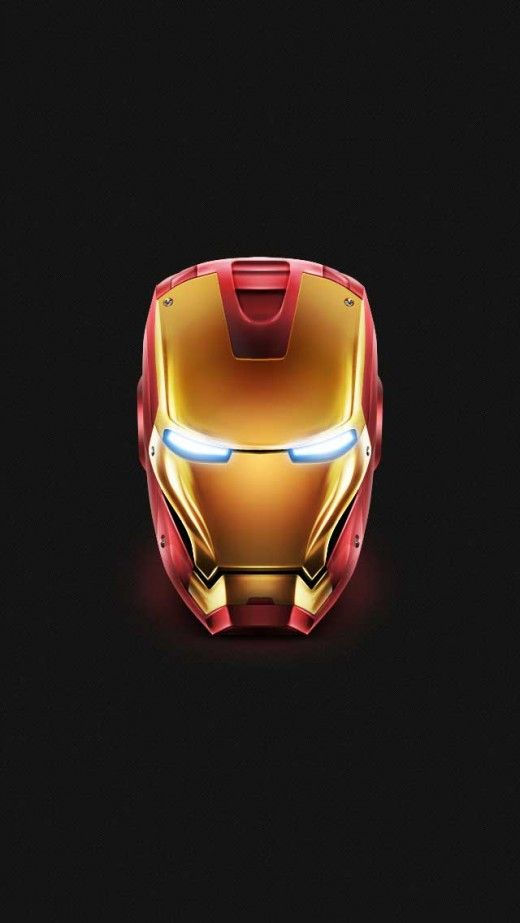 Iron Man Helmet Iphone 5 S Wallpaper Click For Original Size