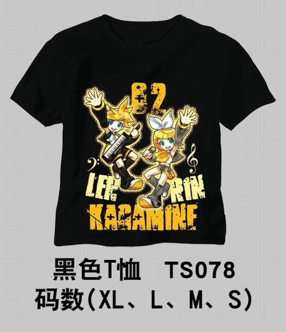 Vocaloid Kagamine Rin Len T Shirt Mhts7223 Vocaloid Anime Shirt T Shirt Costumes