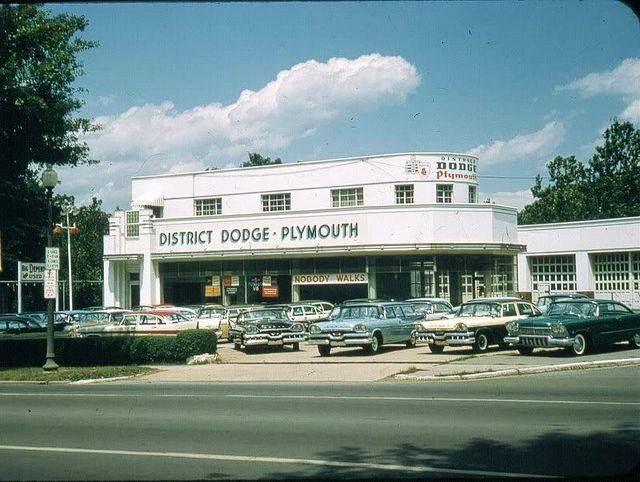 1957 Dodge Plymouth Car Dealership Car Dealership Plymouth Cars Dealership