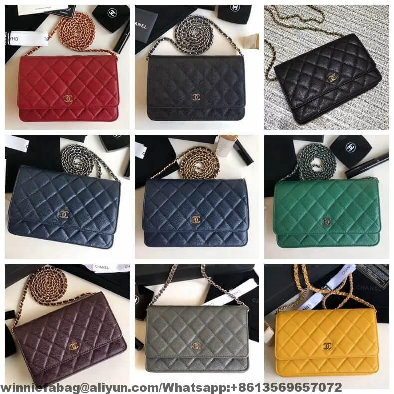 Chanel Woc Wallet On Chain Collection Replica Handbags Review