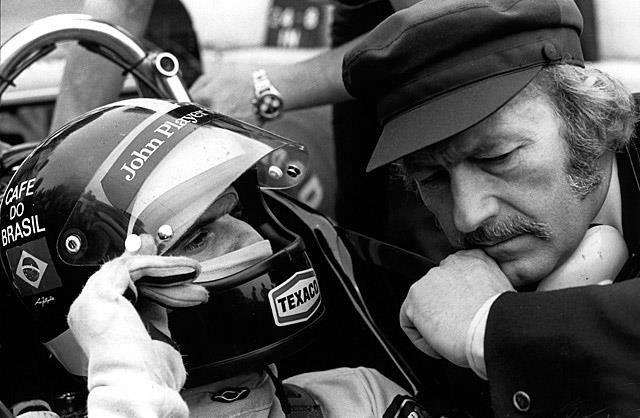 emerson fittipaldi | Emerson Fittipaldi and Colin Chapman | Motor Racing