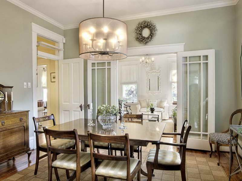 Dining Room Paint Colors With Med Wood Trim