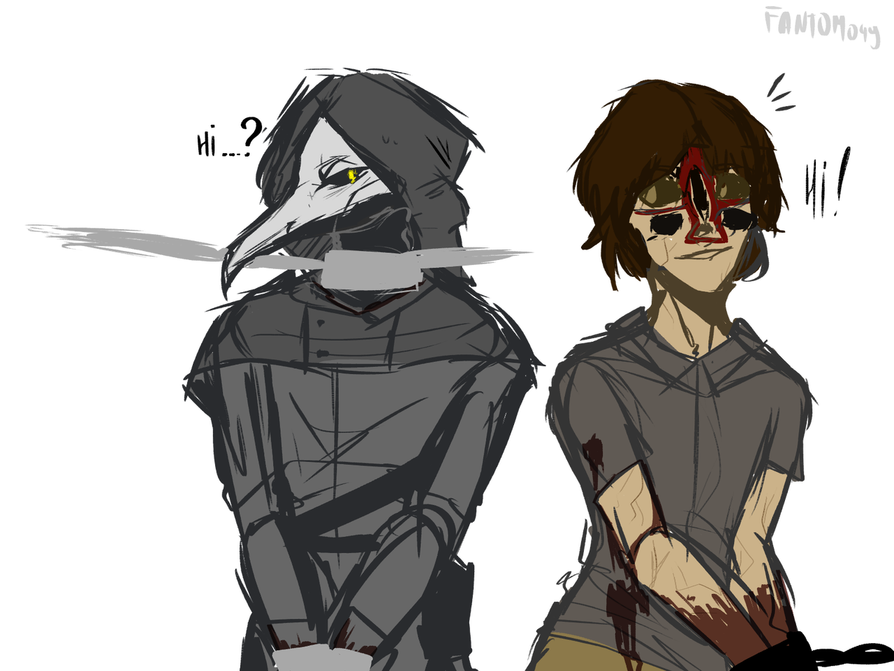 Scp 049 And Hum Scp 173 Aaa By Fantom049 On Deviantart With