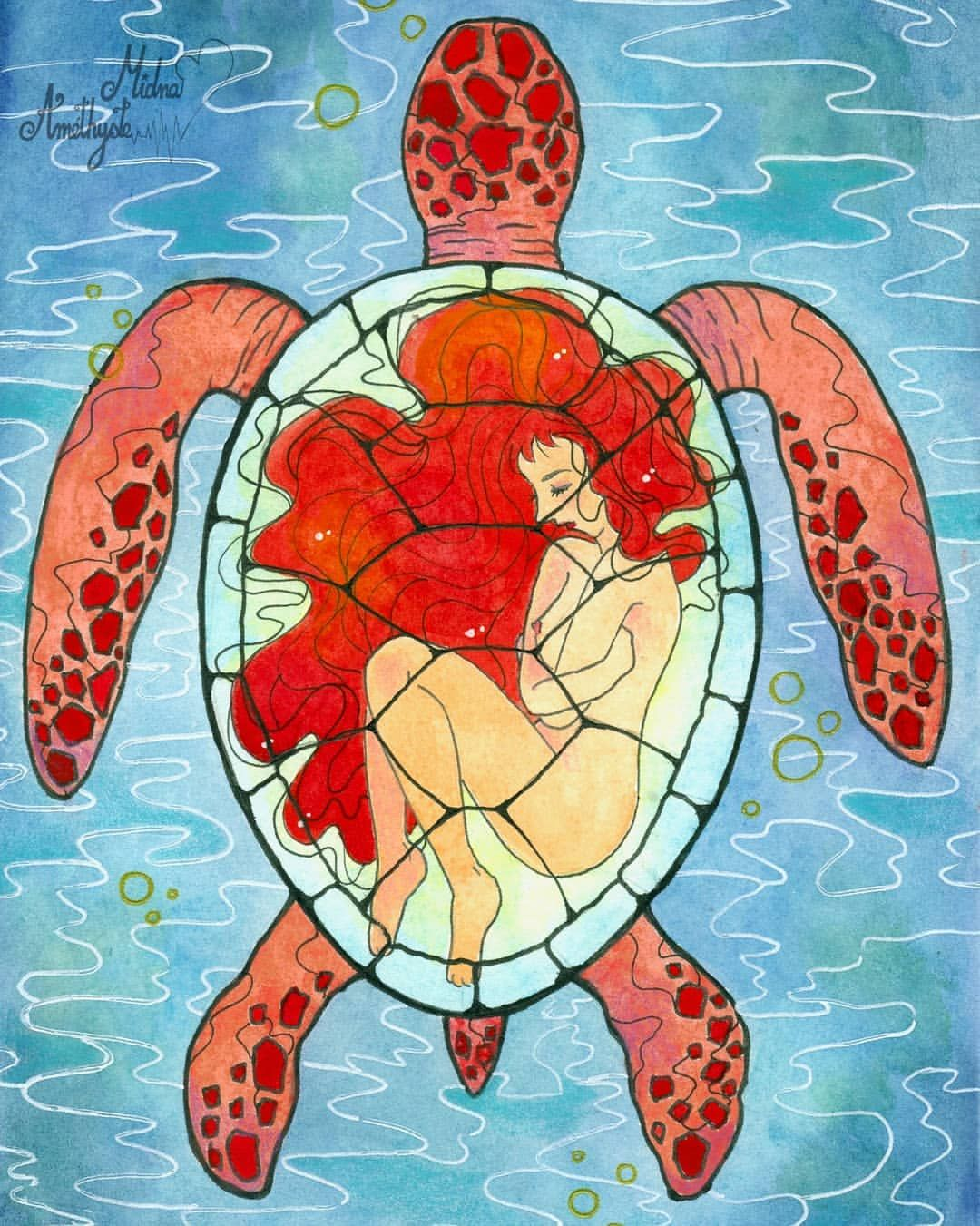 The Red Turtle The Red Turtle Ghibli Tattoo Turtle Art