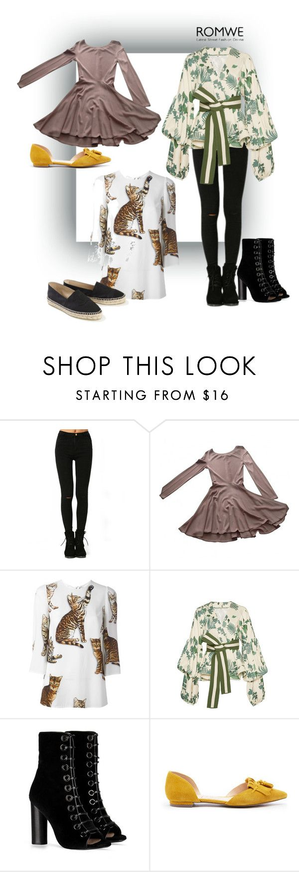 """Romwe.com contest! - Win these black skinny ripped denim pants!"" by juemaciel on Polyvore featuring moda, Alaïa, Dolce&Gabbana, Johanna Ortiz, Barbara Bui, Sole Society e Chanel"