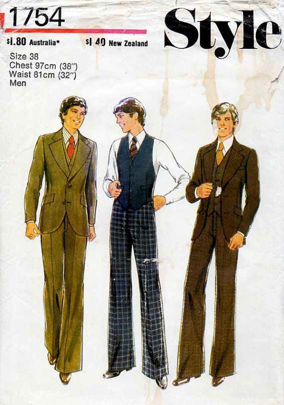 Suit Sewing Patterns For Men 40s Men's Suit Jacket Waistcoat Delectable Mens Suit Sewing Patterns
