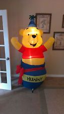 Prototype Gemmy Happy Birthday Winnie the Pooh Inflatable Airblown
