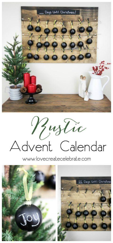 Rustic Advent Calendar