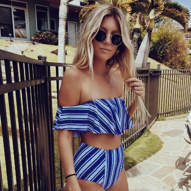 Angie Ruffle Swimsuit in 2019 | Products | Swimsuits ...