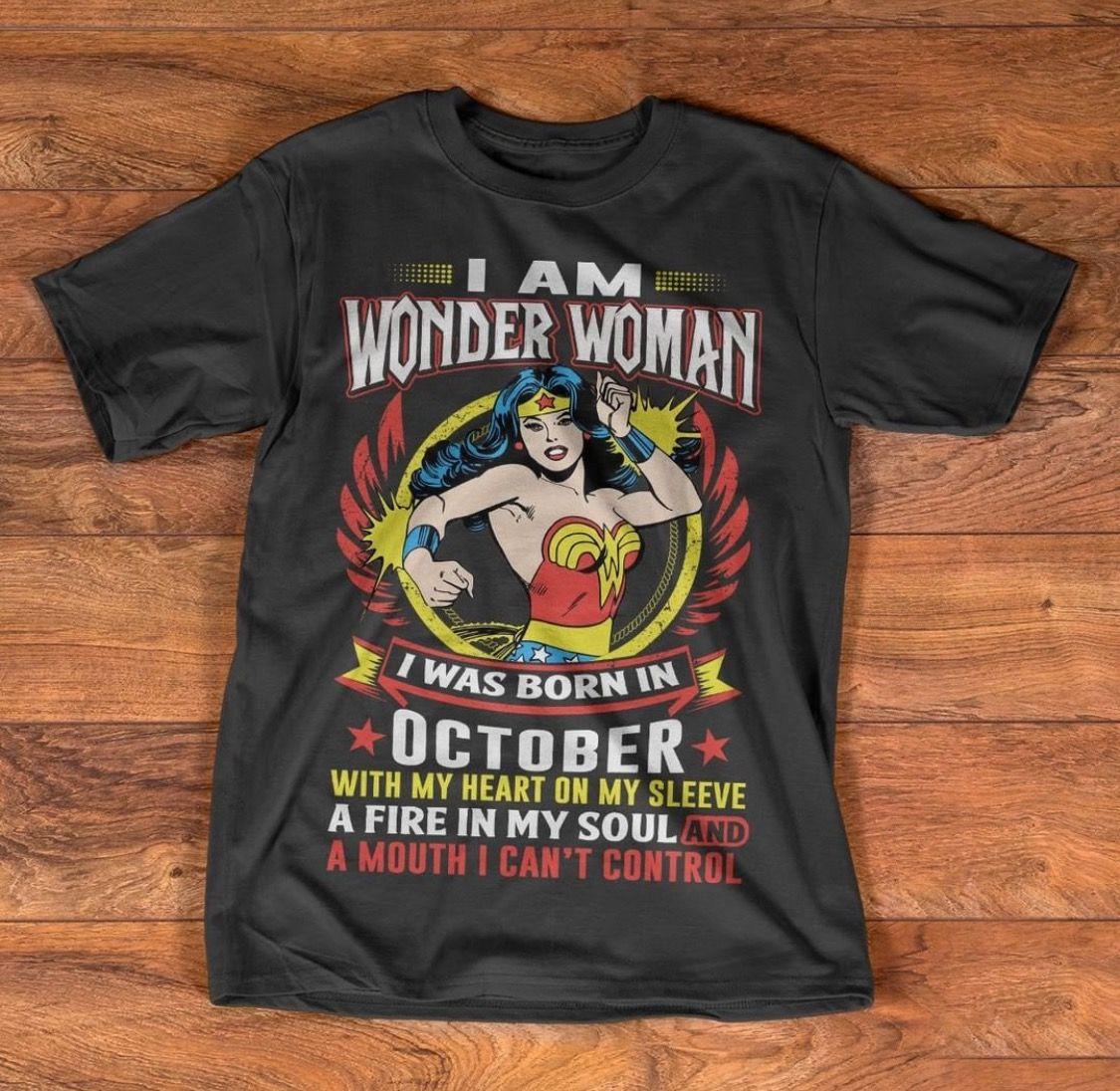Pin by ѕυηѕнιηє☀️ on wιѕнlιѕт Wonder woman shirt, Shirts