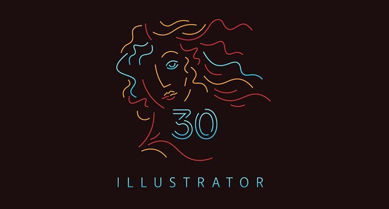 Illustrator 30歲啦,快來看看過去這30年的變化吧 | 設計知識 | 捷可印 | 印刷的最佳夥伴