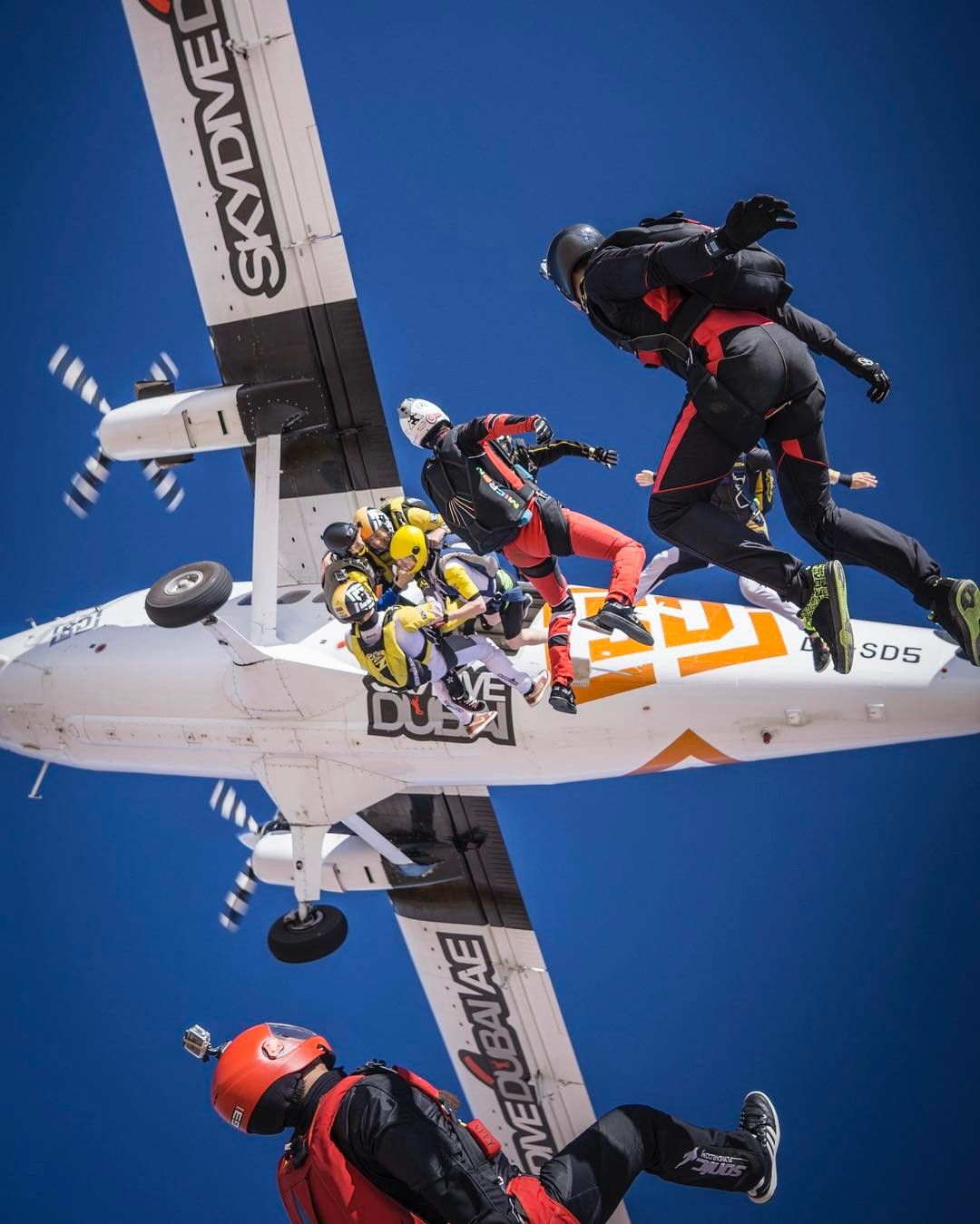 Why Do You Exit The Plane Max Haim Skydive Dubai Sports Skydiving Extreme Sports Outdoors Adventure