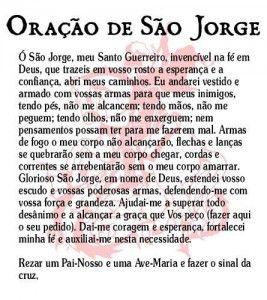 Oracao De Sao Jorge Original Orações Católica Pinterest