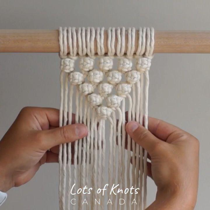 Photo of DIY Macrame Tutorial – So starten Sie Ihre Arbeit mit Berry Knots! Halbkreismuster – YouTube