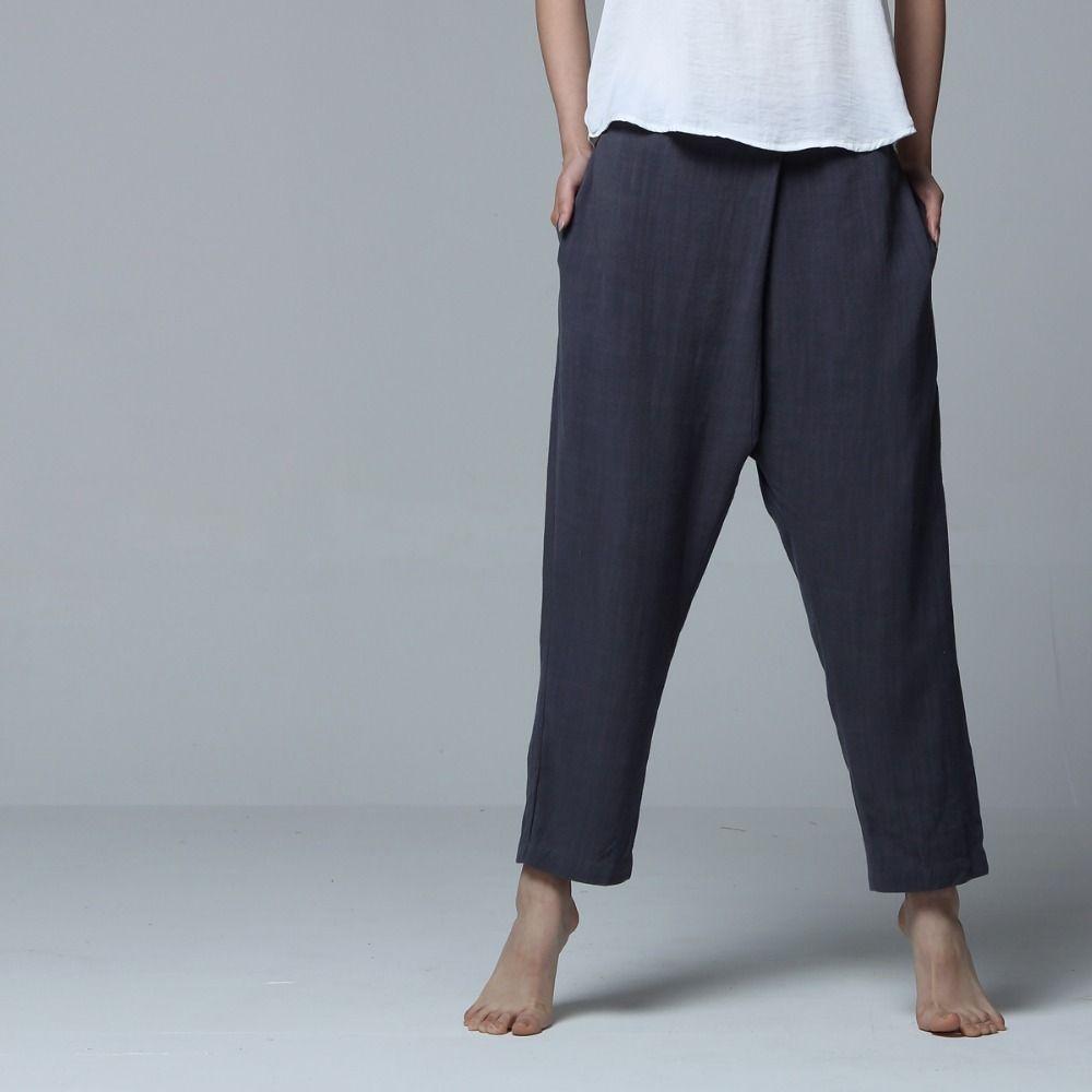 Pantaloni larghi stile ALI BABA Harem Pants Cotone Pantaloni Harem Pants Donna gratis in UK