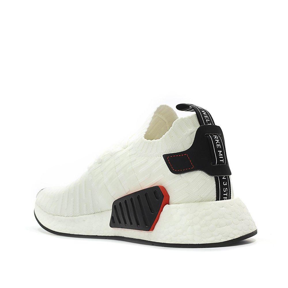 9a47f3e7d9d1d adidas Originals NMD R2 PK Primeknit Runner Boost (white   black) - Free  Shipping