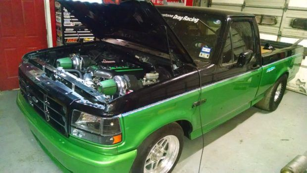 Ford Lightning with a Twin-turbo Coyote V8 | Engine Swaps