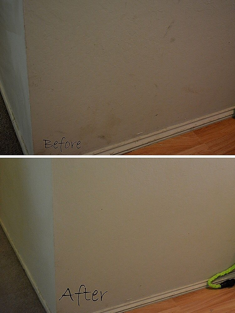 How To Get Marks Off Of Flat Paint Walls 1 Mr Cleans Magic