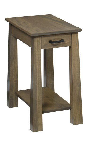 Amish Ashdale Chairside Table In 2019 Chair Side Table