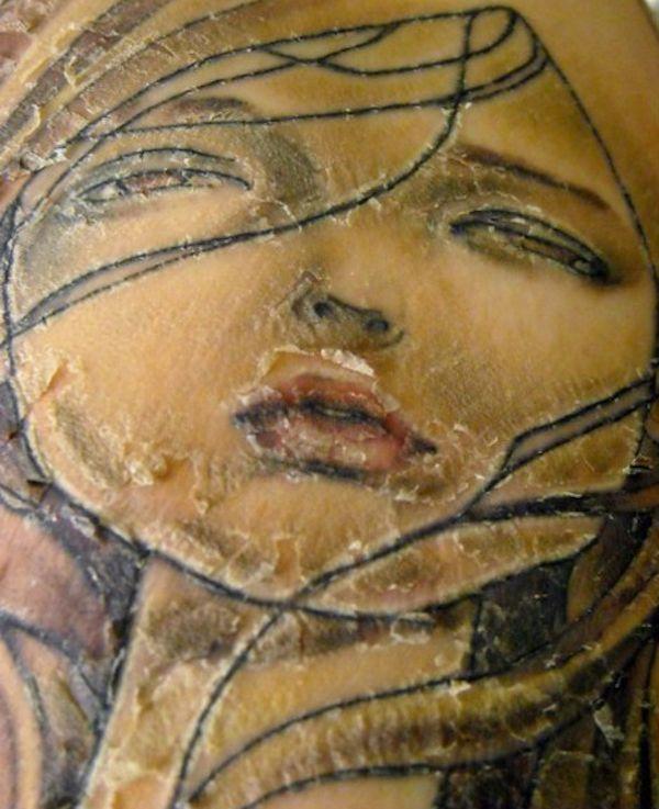 Tattoo Peeling Cindy Evelyn Pinterest Tattoos Tattoo Peeling