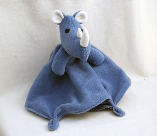Rhino Lovey Blanket Sewing Pattern | Supply | Patterns | Kollabora