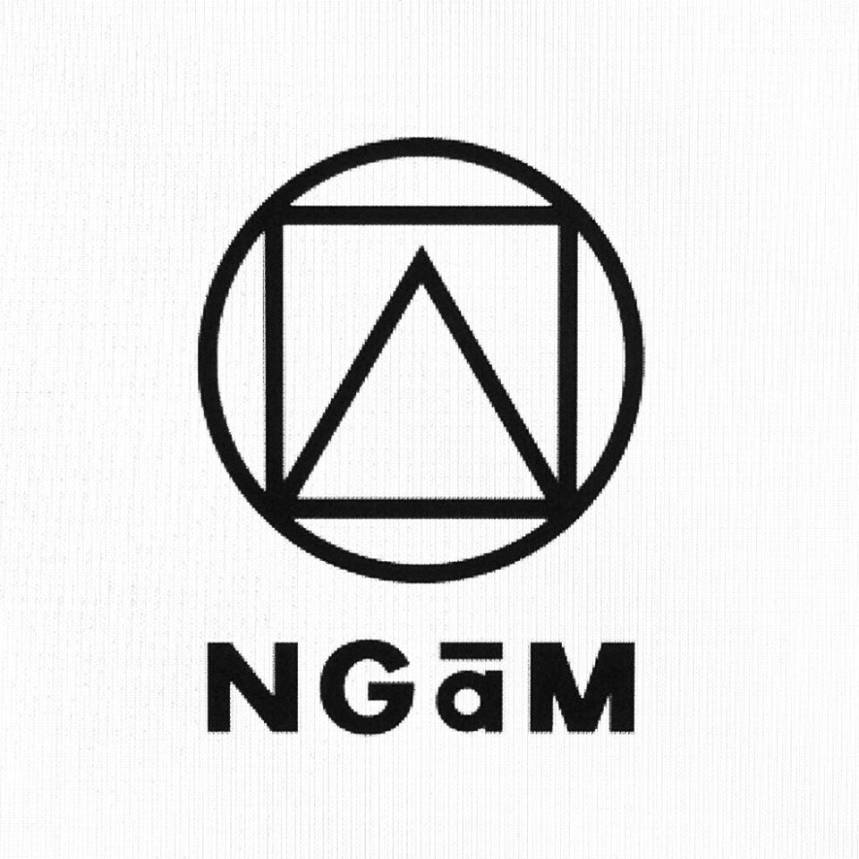 Ngam Logo Inspired By A Very Simple Shape Of Circle Square And