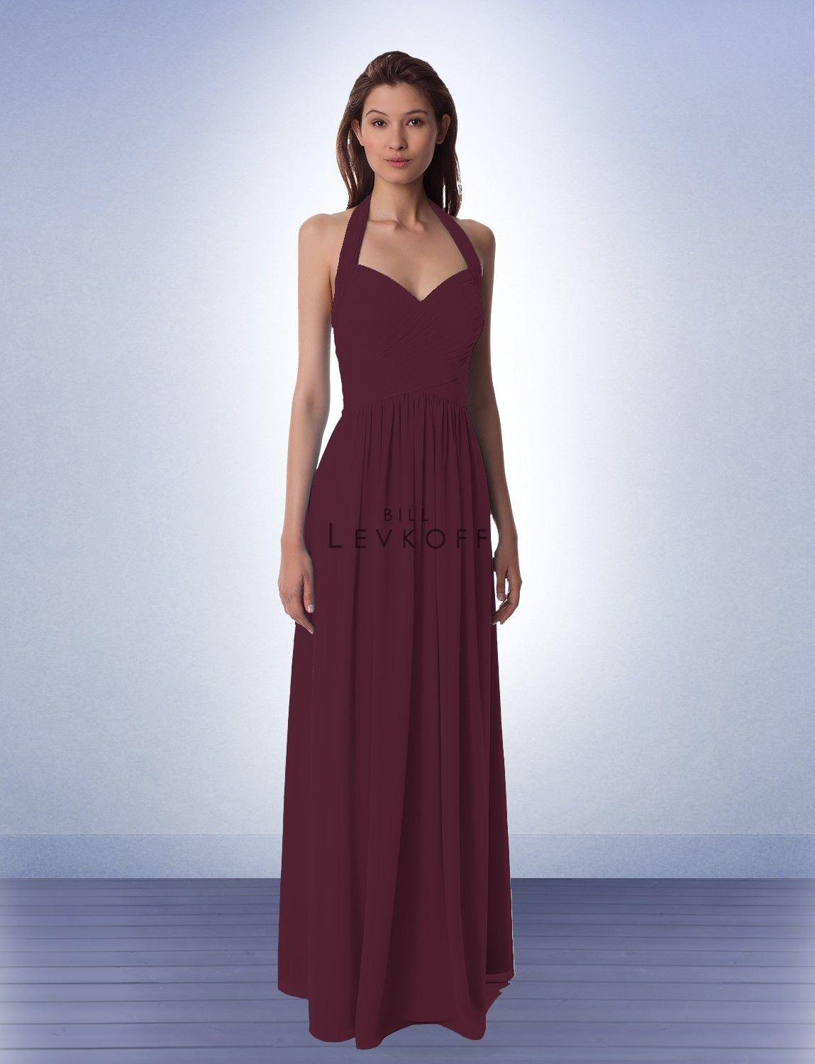 Completed bridesmaid dress style 990 bridesmaid dresses by completed bridesmaid dress style 990 bridesmaid dresses by bill levkoff in wine ombrellifo Image collections
