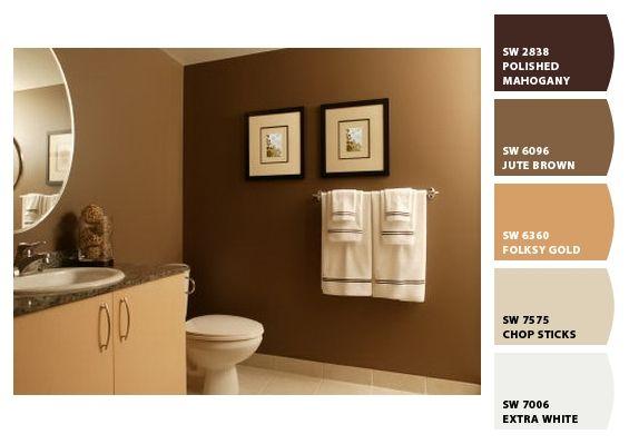 Color para el cuarto de estudio colores pinterest - Paleta de colores para paredes interiores ...