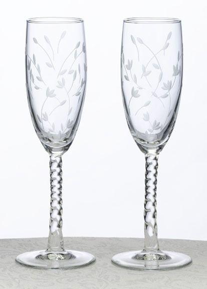 Huwelijk - Charming Champagneglazen - 20-1700 - Champagneglazen - Deze champagneglazen