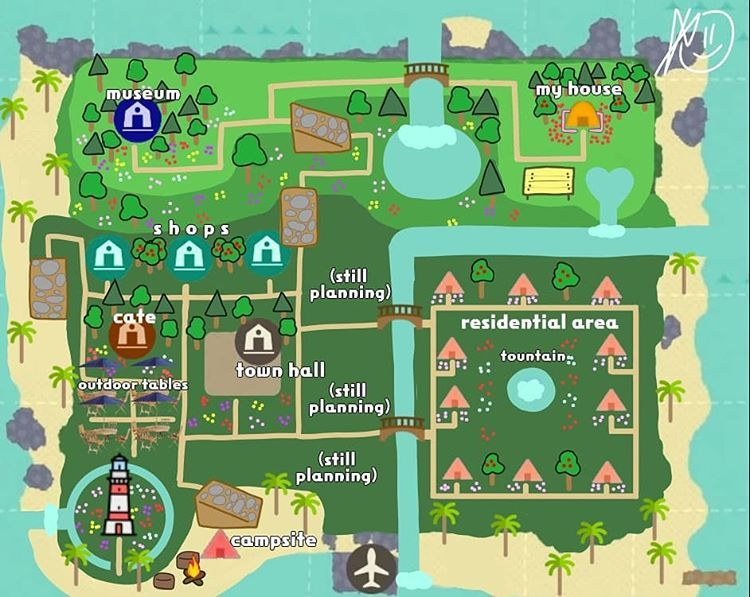 """opposite of epic 👌 on Instagram: """"My brain said animal crossing map so here it is :))) I didn't eat breakfast for this so I'ma go eat now  Template : Feenzauber on Reddit *…"""""""