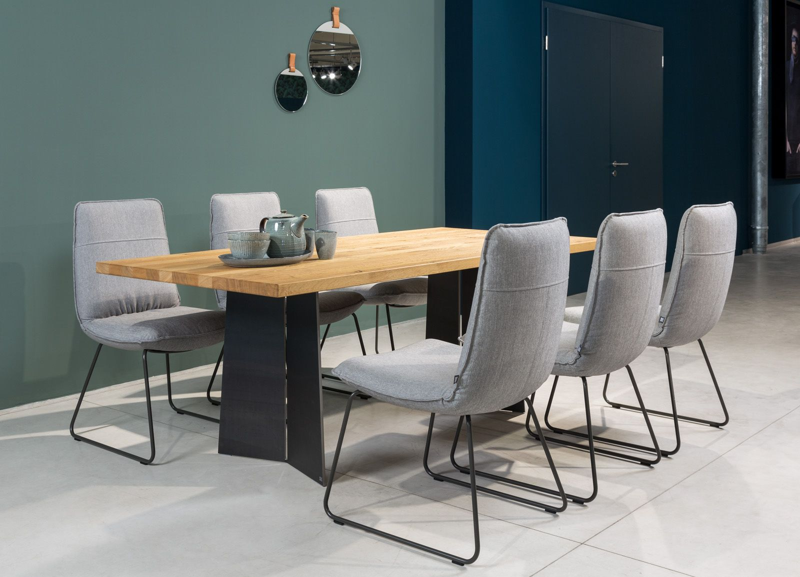 The Rolf Benz 969 Table Focus On Nature In Your Dining Room Rolfbenz Table Diningroom Modern Dining Room Dining Room Inspiration Luxury Dining Room