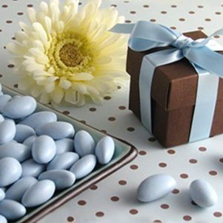 Decorative Boxes Filled With Jordan Almonds See More Almond Wedding Favors And Party Ideas