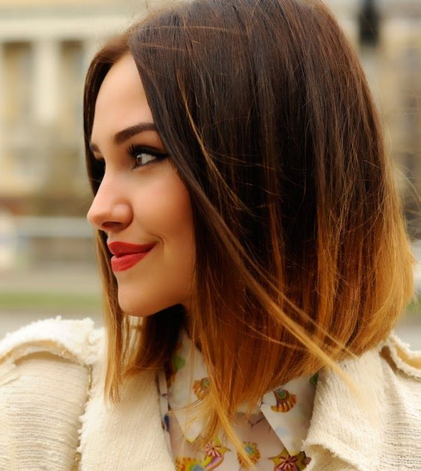 12 Cortes de cabello al hombro que te tentarn Pinterest Hair