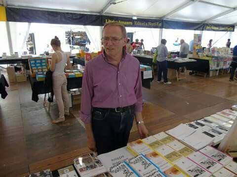 Pordenonelegge 2015 - seconda giornata tra amici e interviste allo stand Samuele Editore
