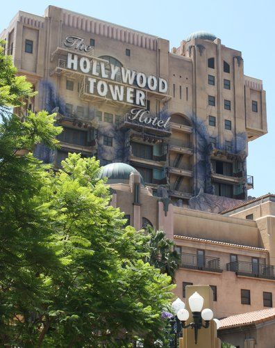 Tower of Terror, Anaheim, CA