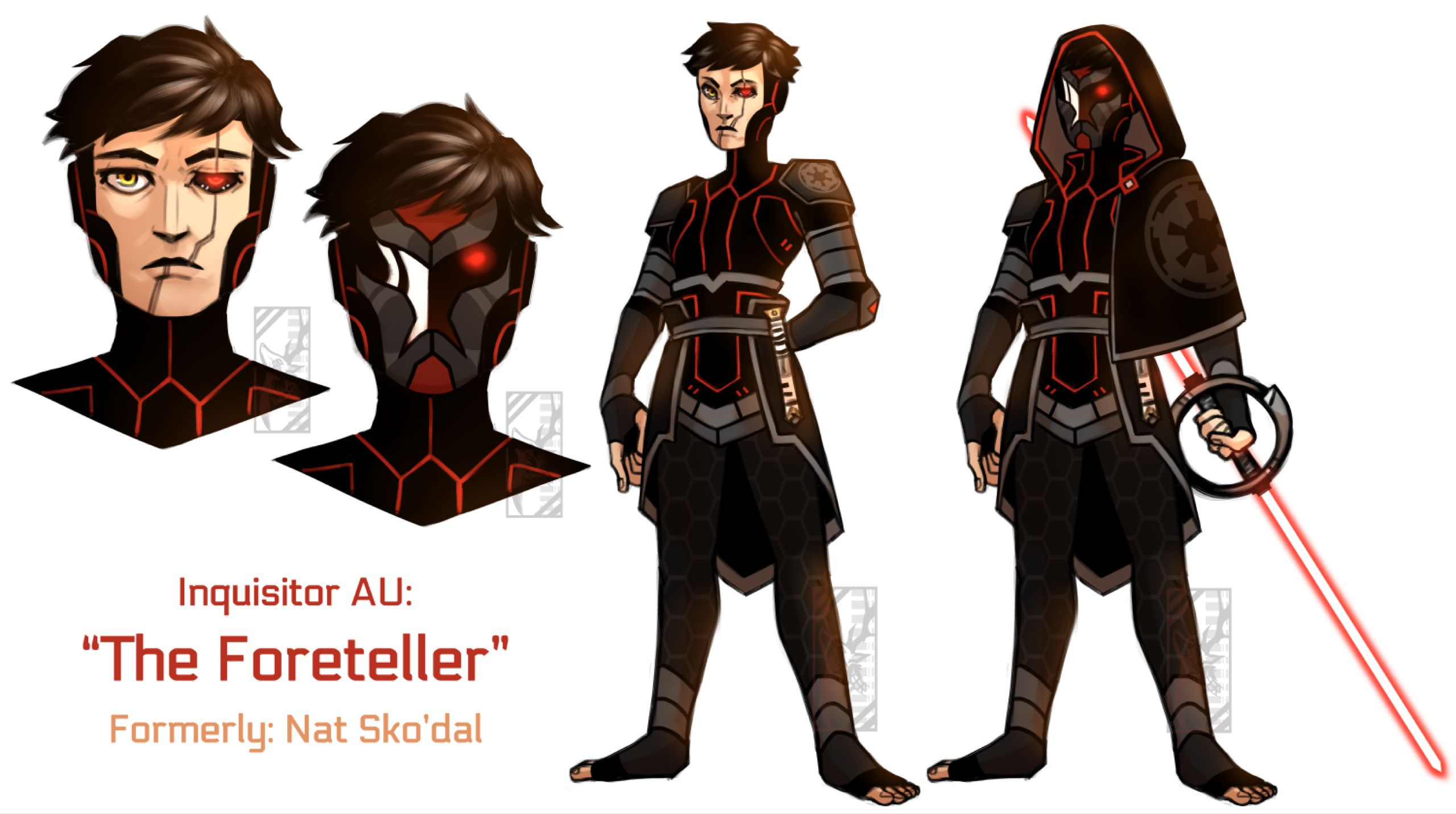 Inquisitor Au By Deer Head On Deviantart Star Wars Characters Pictures Star Wars Villains Star Wars Rpg